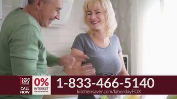 Kitchen Saver Labor Day Savings TV Spot, 'Stop Laboring' - Thumbnail 8