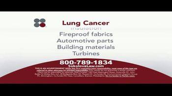 Sokolove Law TV Spot, 'Lung Cancer: Asbestos Exposure' - Thumbnail 6