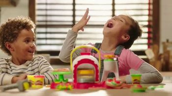 Play-Doh Kitchen Creations Stamp 'n Top Pizza Oven TV Spot, 'Disney Channel: Dash of Imagination'