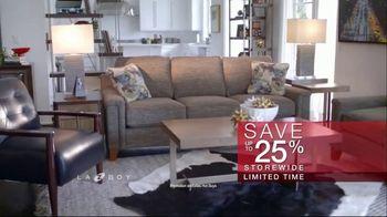La-Z-Boy Labor Day Sale TV Spot, \'Held Over: 25 Percent\'