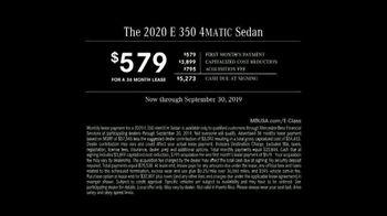 2020 Mercedes-Benz E-Class TV Spot, 'Quintessential' [T2] - Thumbnail 8
