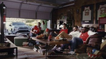 Toyota RAV4 Hybrid TV Spot, 'Fanatics' Featuring Antron Brown [T1] - 1105 commercial airings