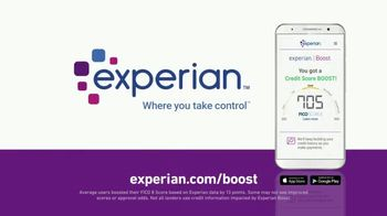 Experian Boost TV Spot, 'I Raised My Credit Score by Eight Points Instantly' - Thumbnail 10