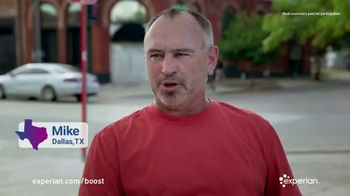 Experian Boost TV Spot, 'I Raised My Credit Score by Eight Points Instantly' - Thumbnail 2