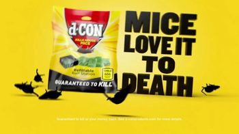 d-CON Refillable Bait Station TV Spot, 'Mice Love It to Death' - Thumbnail 10