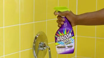 Kaboom With OxiClean Shower, Tub & Tile Cleaner TV Spot, '10 Seconds' - Thumbnail 1