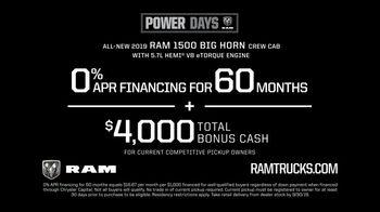 Ram Trucks Power Days TV Spot, 'Another Big Reason' [T2] - Thumbnail 7