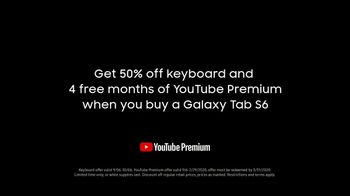 Samsung Galaxy Tab S6 TV Spot, 'Lasts: YouTube Premium' Song by The Belle Stars - Thumbnail 8