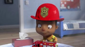 Puffs Plus Lotion TV Spot, 'Fire Department'