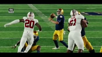 XFINITY TV Spot, 'NBC: Notre Dame Football' - 181 commercial airings