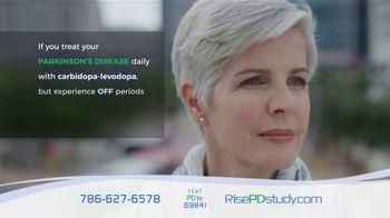Rise Parkinson's Disease Study TV Spot, 'Off Periods'