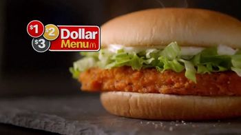 McDonald's $1 $2 $3 Dollar Menu TV Spot, 'Hot 'N Spicy McChicken and Any Size Soft Drink' - Thumbnail 2