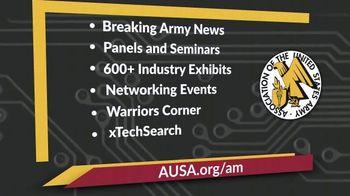 AUSA Annual Meeting & Exposition TV Spot, '2019 Walter E. Washington Convention Center' - Thumbnail 7