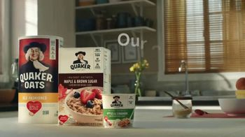 Quaker TV Spot, 'Easy Recipes, Endless Oatmeal Ideas' - Thumbnail 8