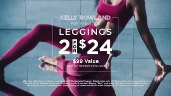 Kelly Rowland for Fabletics TV Spot, 'Confidence You Can Wear' Featuring Kelly Rowland - Thumbnail 6