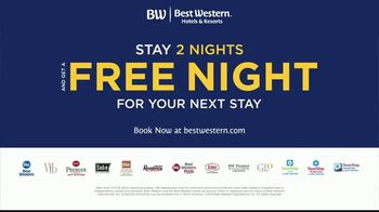 Best Western 2019 Fall Promotion Offer TV Spot, 'Stay Two Nights, Get a Free Night' - Thumbnail 8