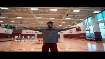 Big Ten Conference TV Spot, 'Faces of the Big Ten: Daniel Oturu' - Thumbnail 3