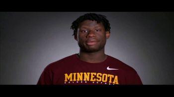 Big Ten Conference TV Spot, 'Faces of the Big Ten: Daniel Oturu' - Thumbnail 8