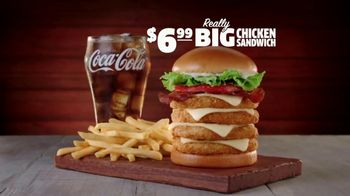 Jack in the Box Really Big Chicken Sandwich Combo TV Spot, 'An Amazing Deal: Starting at $4.99'