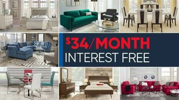 Rooms to Go Memorial Day Sale TV Spot, 'Reclining Leather Sectional' - Thumbnail 3