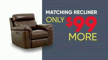Rooms to Go Memorial Day Sale TV Spot, 'Reclining Leather Sectional' - Thumbnail 7