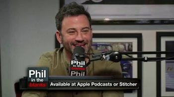 Phil in the Blanks TV Spot, 'Jimmy Kimmel' - Thumbnail 7
