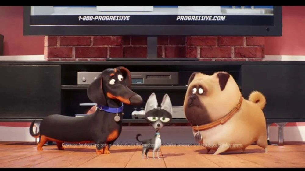 State Farm 24 Hour Roadside Assistance >> Progressive TV Commercial, 'Secret Life of Pets 2: Protect Your Pets' - iSpot.tv