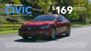 Honda Memorial Day Sales Event TV Spot, 'Smart Way to Go' [T2] - Thumbnail 5