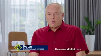 Theraworx Relief TV Spot, 'Peter: Muscle Cramps' - 4082 commercial airings