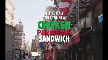 Burger King Chicken Parmesan Sandwich TV Spot, 'Little Italy'