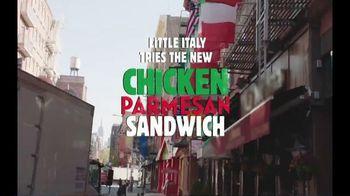 Burger King Chicken Parmesan Sandwich TV Spot, 'Little Italy' - Thumbnail 4