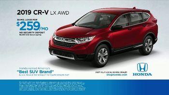 Honda TV Spot, 'The Utility Vehicle Just for You: HR-V & CR-V' [T2] - Thumbnail 7