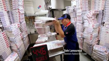 Domino's Large Two-Topping Pizza TV Spot, 'Ludicrous Speed' - Thumbnail 2