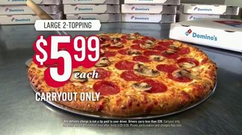 Domino's Large Two-Topping Pizza TV Spot, 'Ludicrous Speed' - Thumbnail 9