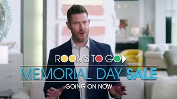 Rooms to Go Memorial Day Sale TV Spot, 'Totally Focused' Featuring Jesse Palmer