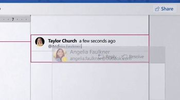 Microsoft Surface Laptop 2 TV Spot, 'Taylor Church: No Offer' - Thumbnail 6