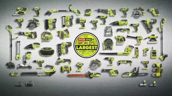 The Home Depot RYOBI Days TV Spot, 'ONE+ 6-Tool Combo Kit' - Thumbnail 6