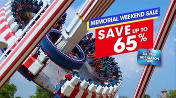 Six Flags Memorial Weekend Sale TV Spot, '2019 Season Pass' - Thumbnail 3