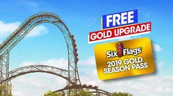 Six Flags Memorial Weekend Sale TV Spot, '2019 Season Pass' - Thumbnail 4