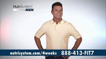 Nutrisystem for Men TV Spot, 'Four Weeks Plus Free Shakes' - Thumbnail 1