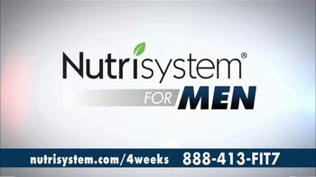 Nutrisystem for Men TV Spot, 'Four Weeks Plus Free Shakes'