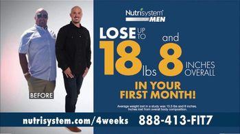 Nutrisystem for Men TV Spot, 'Four Weeks Plus Free Shakes' - Thumbnail 5