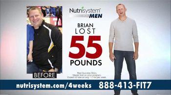 Nutrisystem for Men TV Spot, 'Four Weeks Plus Free Shakes' - Thumbnail 7