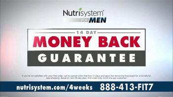Nutrisystem for Men TV Spot, 'Four Weeks Plus Free Shakes' - Thumbnail 9