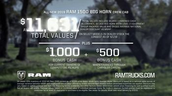 2019 Ram 1500 TV Spot, 'More 1500' [T2] - Thumbnail 9
