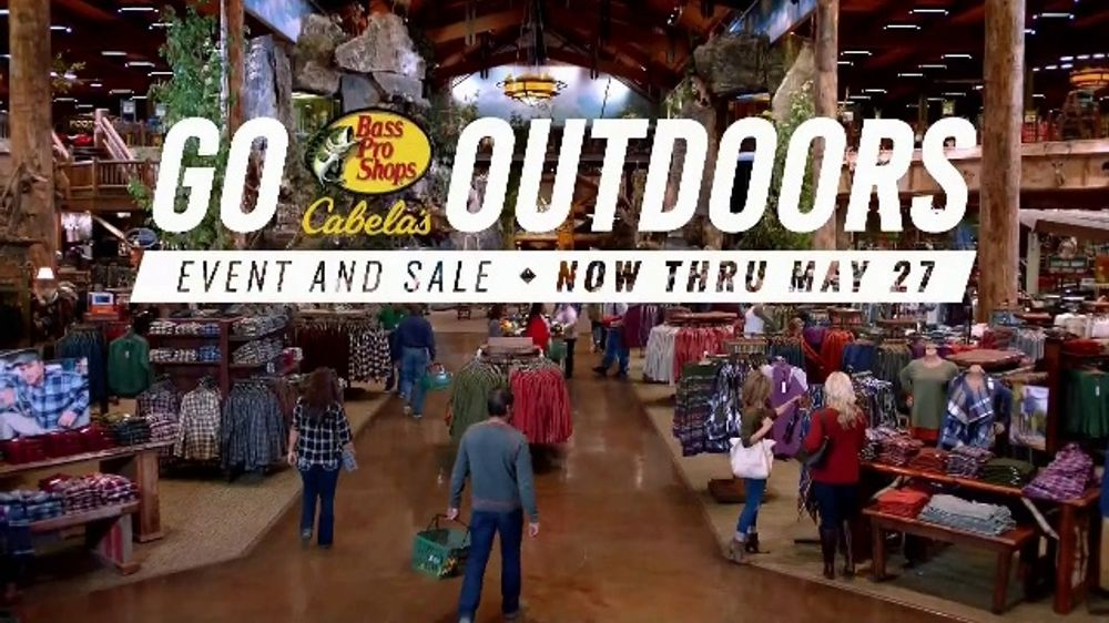 Bass Pro Shops Go Outdoors Event & Sale TV Commercial, 'Free Crafts &  Workshops' - Video