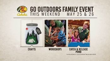 Bass Pro Shops Go Outdoors Event & Sale TV Spot, 'Free Crafts & Workshops' - Thumbnail 6