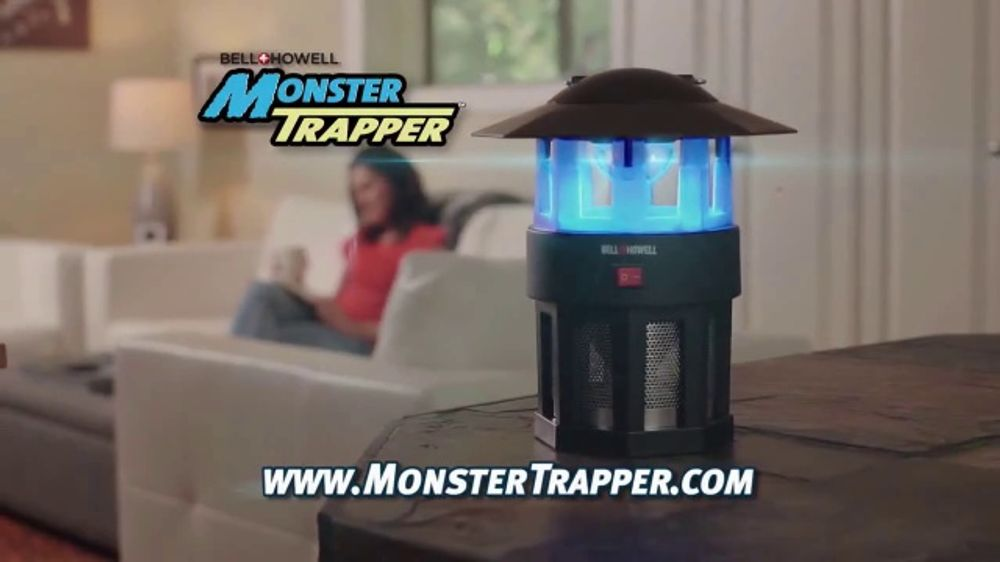 Bell + Howell Monster Trapper TV Commercial, 'Fight Back: Free Trial' -  Video