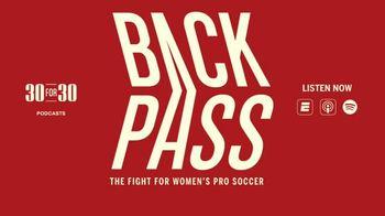 ESPN 30 for 30 Podcasts TV Spot, 'Back Pass' - Thumbnail 1