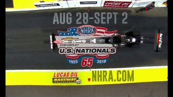 NHRA TV Spot, '2019 Chevrolet U.S. Nationals'